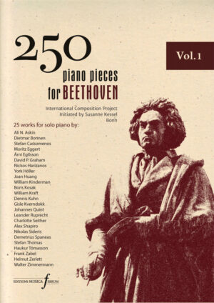 250 piano pieces for Beethoven vol. 1