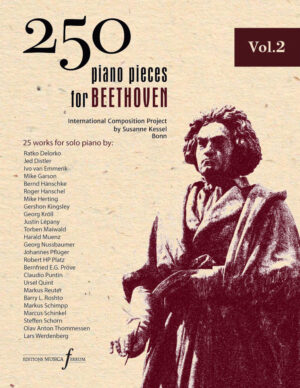 250 piano pieces for Beethoven vol. 2