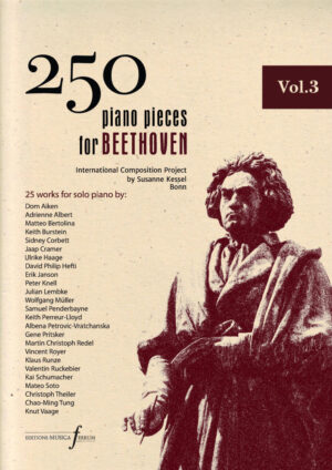250 piano pieces for Beethoven vol. 3