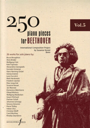 250 piano pieces for Beethoven vol. 5