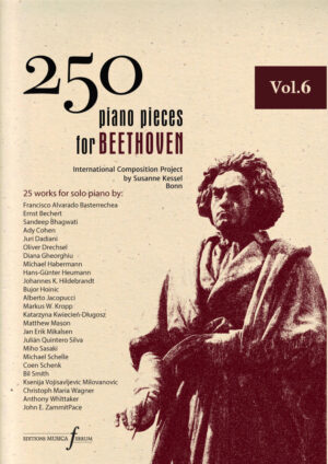 250 piano pieces for Beethoven vol. 6