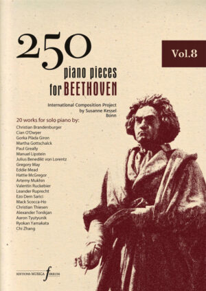 250 piano pieces for Beethoven vol. 8