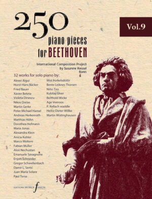 250 piano pieces for Beethoven vol. 9