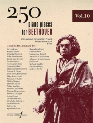 250 piano pieces for Beethoven vol. 10