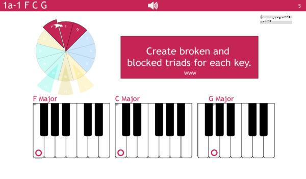 Pocket Piano Proficiency Master Copy Page 06