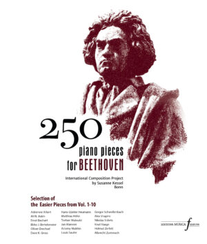 """250 piano pieces for Beethoven """"Selection of Easier Pieces"""""""